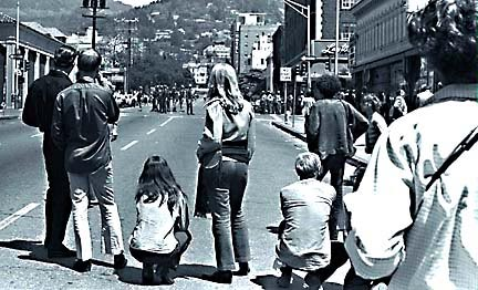 [Picture of 60's Berkeley Confrontation 1969]