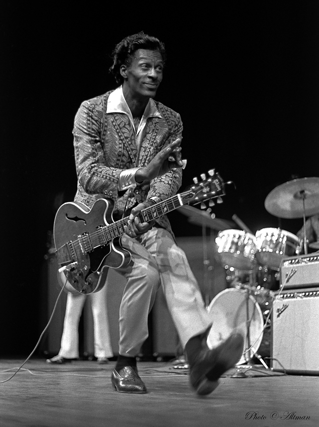 [Photo of Chuck Berry]