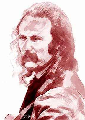 [Photo of David Crosby]