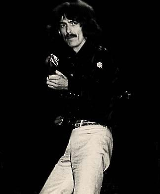 [Photo: George Harrison ]