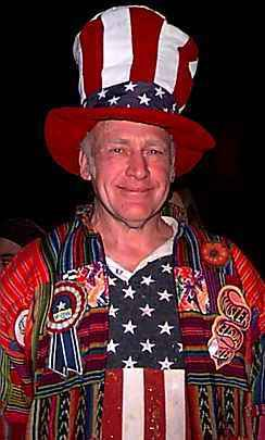 Photo of Ken Kesey, at the I Want to Take You Higher