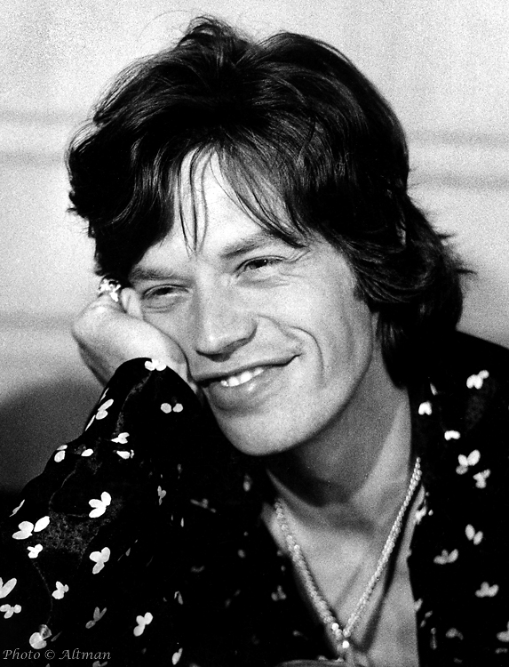 [Photo of Mick Jagger]