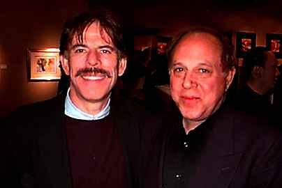 Photo of Peter Max and Robert Altman