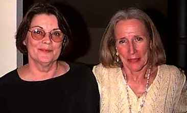 Rosemary Leary and  Peggy Hitchcock ~   May 31,1997