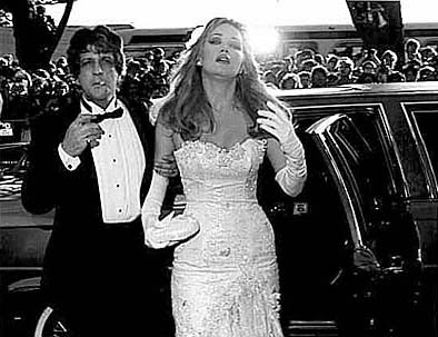 [Photo of Barry and Tanya Roberts, Premiere of a James Bond Film]