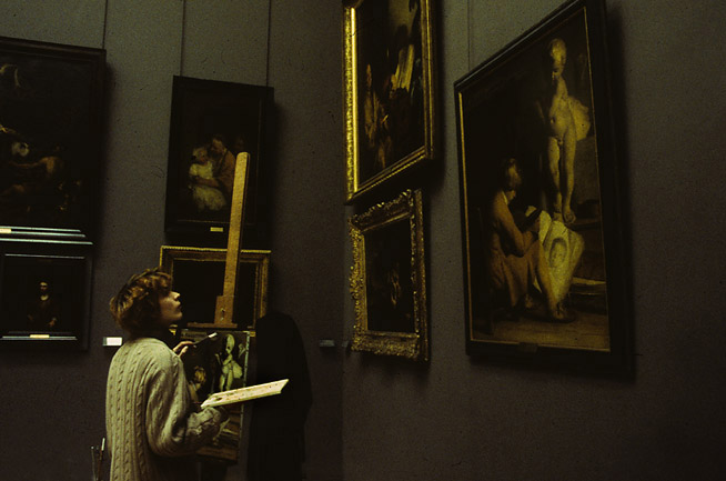 photo- At the Louvre