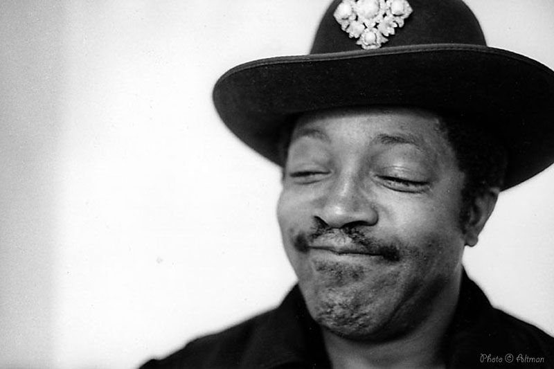 Bo Diddley smiling