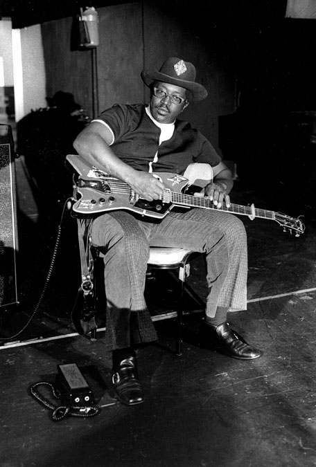 Bo Diddley portrait