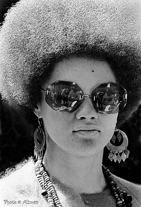 Portrait- Kathleen Cleaver ~ The Black Panther Party