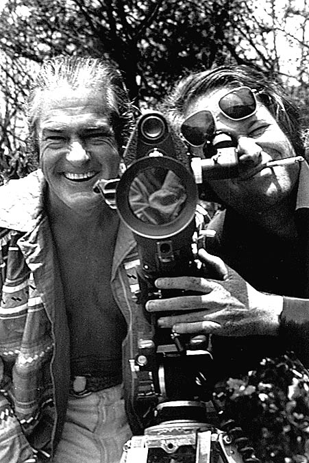 "Photo- Timothy Leary ~ 1969 At his home in California filming ""San Francisco Good Times"""