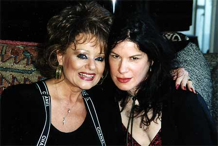 Photo- Tammy Faye Bakker and Karla Le Vey